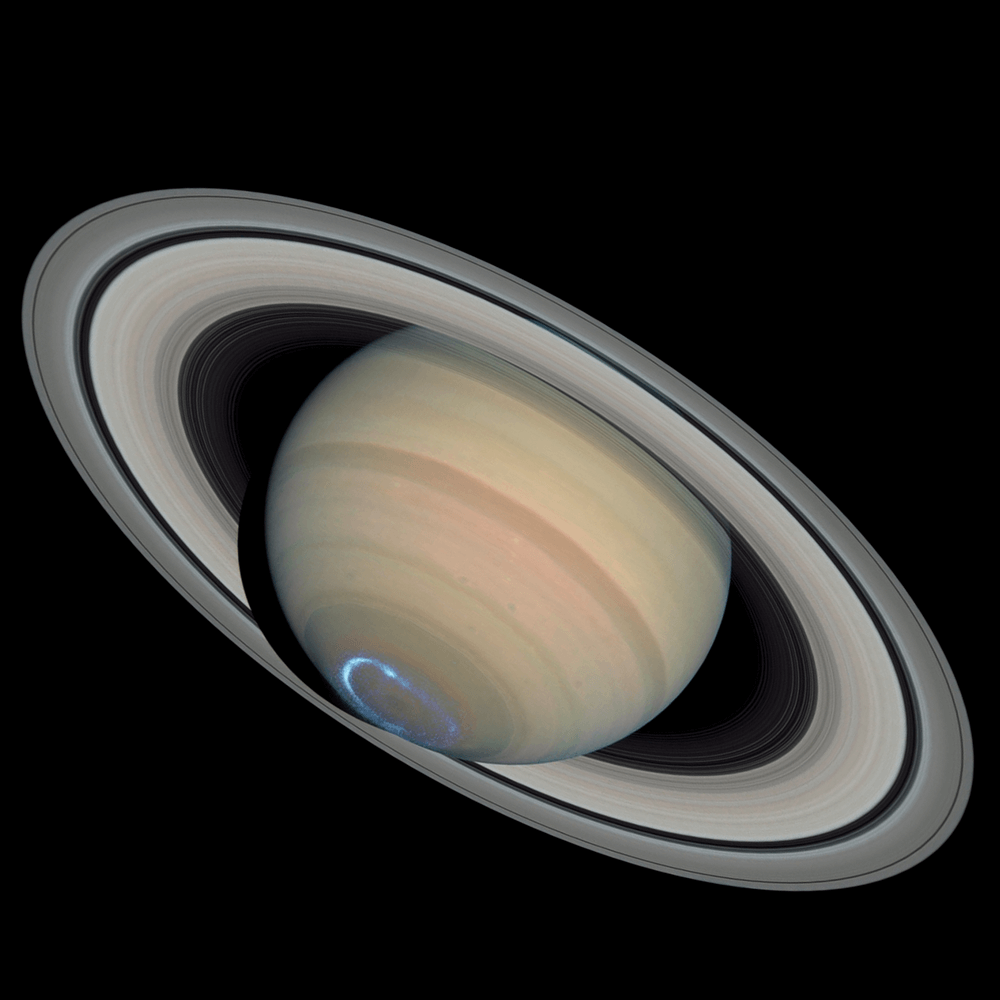 Saturn Icon glypth from Astrology 42